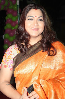 chennai k bhagyaraj kushboo in silk saree kushboo latest pics kushboo