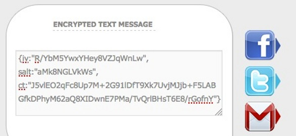 crypter sms