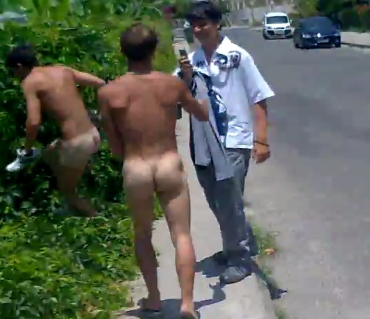 Hotties Streaking In Public