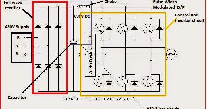 Variable Bfrequency Bdrive Bcircuit Bdiagram on wire a 3 way light switch diagram