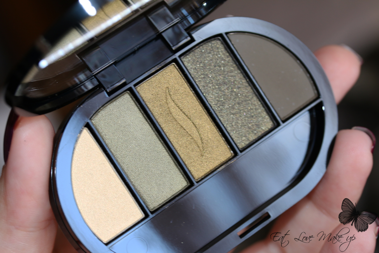 Sephora Colorful 5 Eyeshadow Palette Mild To Wild Khaki