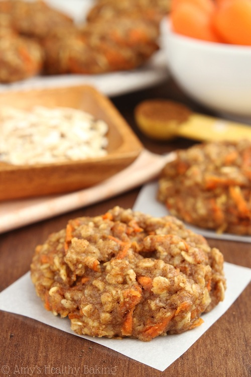 Our Green House Blog: Oatmeal Carrot Cake Cookies