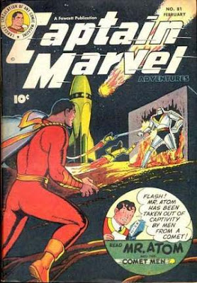 Captain Marvel Advs 81 cover