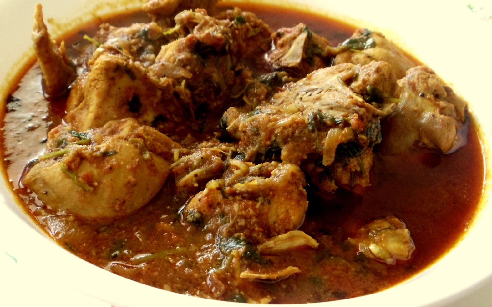 The food I cook...: Methi Murgh