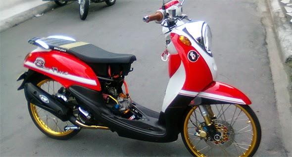 Modifikasi Yamaha Fino Terbaru