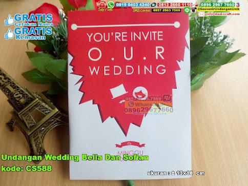 Undangan Wedding Bella Dan Sofian