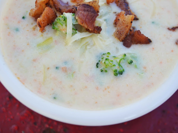 Beer and Cheese Veggie Soup