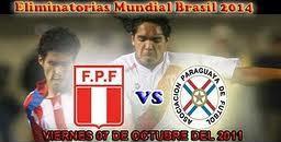 Partido Perú Vs Paraguay Eliminatorias 2014