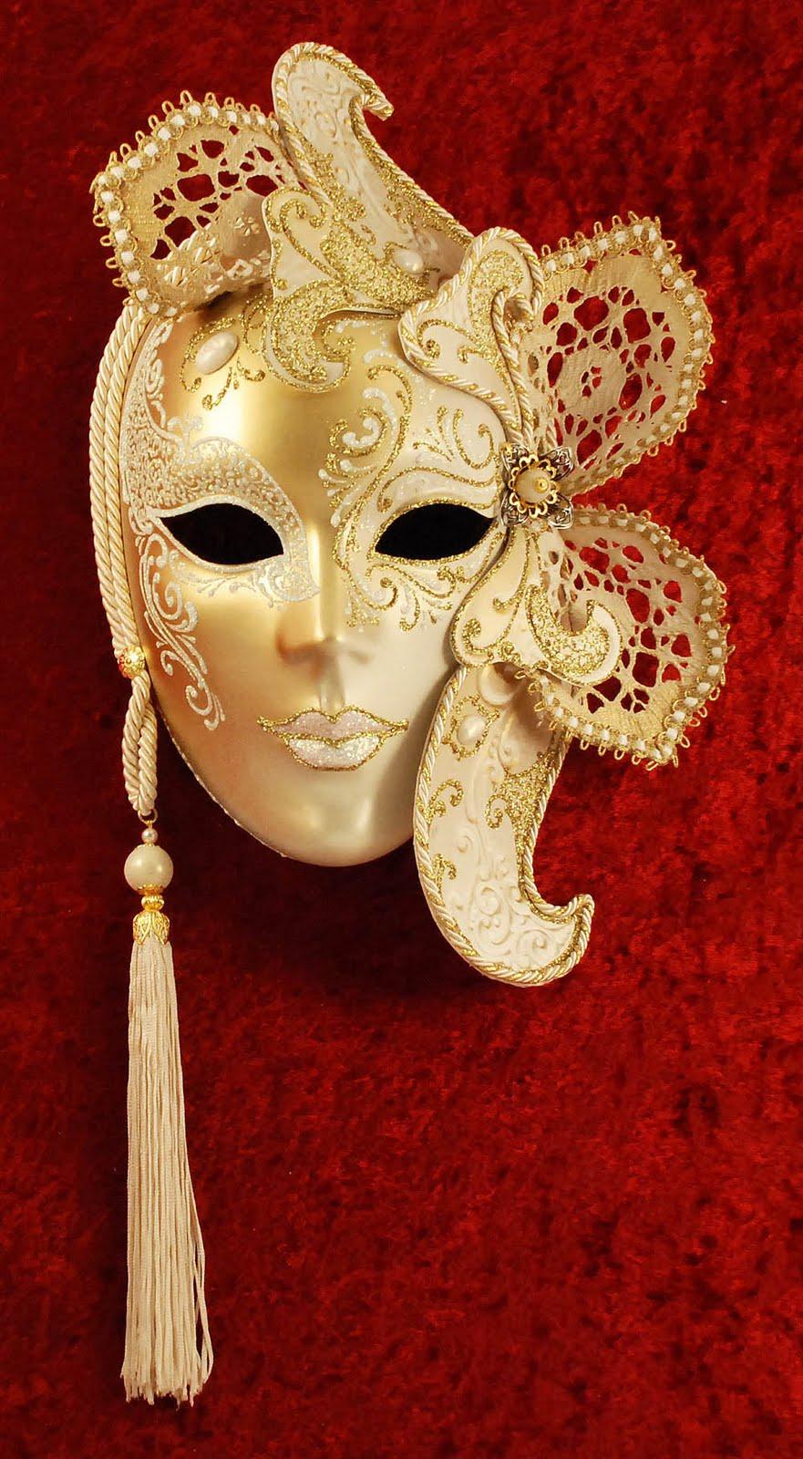 Фарфоровая маска своими руками 25