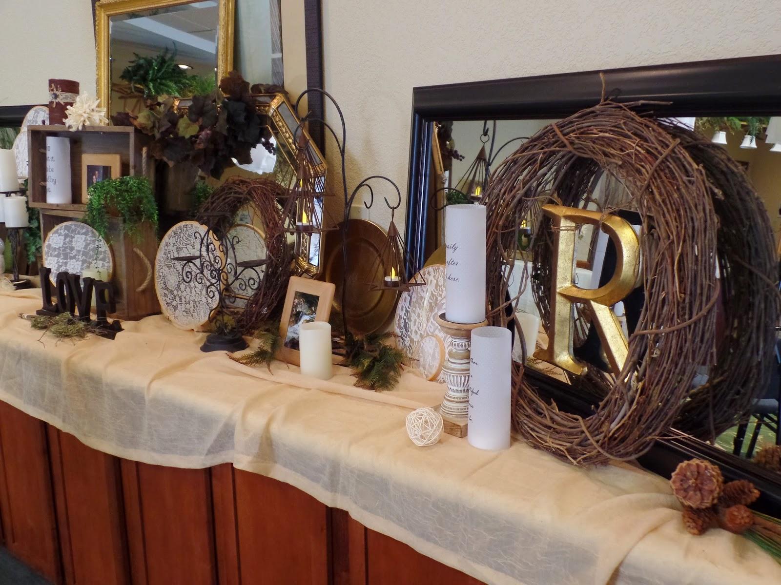 woodsy indoor wedding decorations