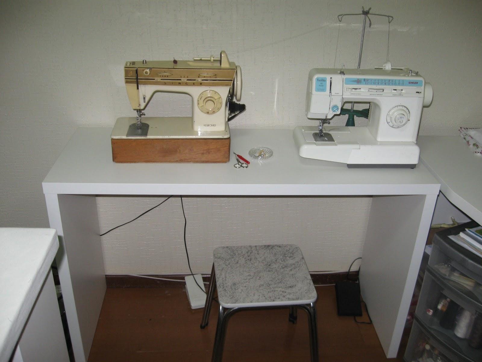 Luz weber meu atelier novo - Mesas para costura ...