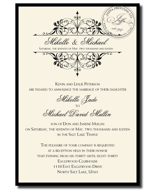 Engagement Invites Templates with good invitation layout