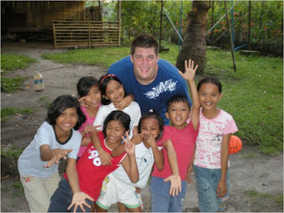 Tim Tebow in Philippines With Filipino Kids