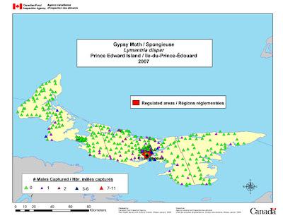 Prince Edward Island Map Political
