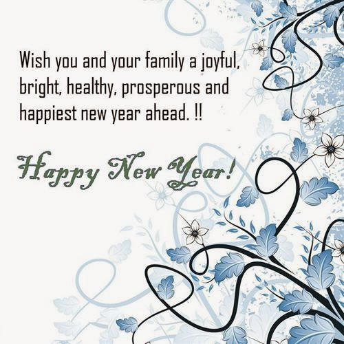 ... Joyful, Bright, Healthy, Prosperous And Happunest New Year Ahead