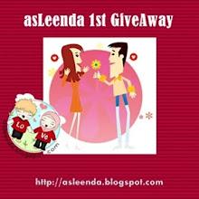 asleenda 1st GiveAway