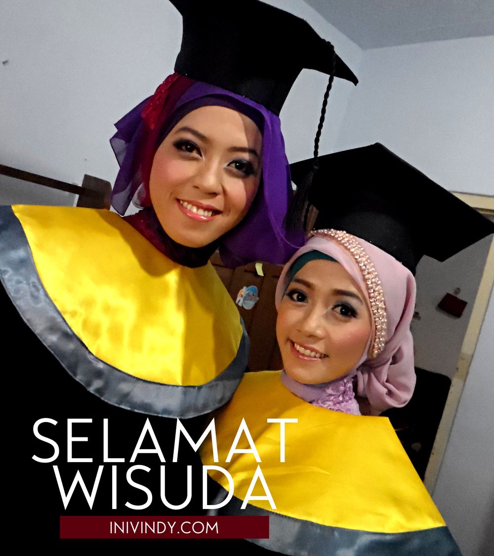 Ini Vindy Yang Ajaib Hijab Makeup Wisuda Tetap Tampil Natural