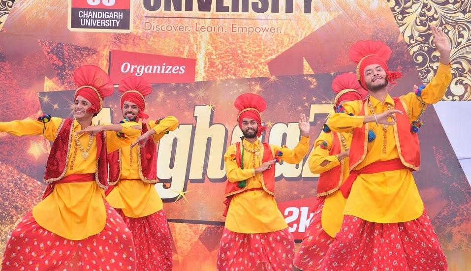 Chandigarh University Fresher's Party