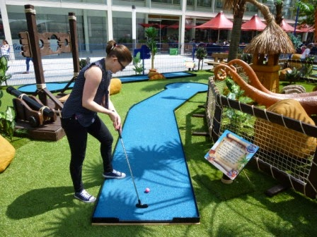Pirate Mini-Golf at thecentre:MK in Milton Keynes