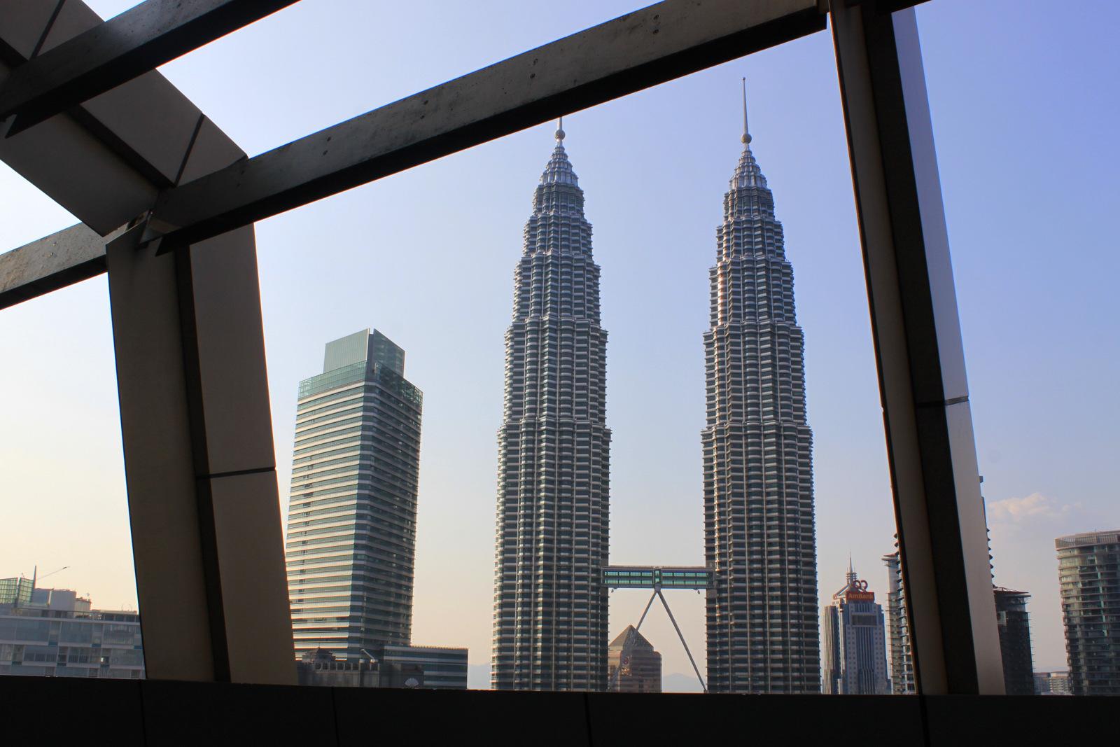Tours Petronas depuis le SkyBar