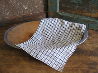 Antique Homespun Cloth