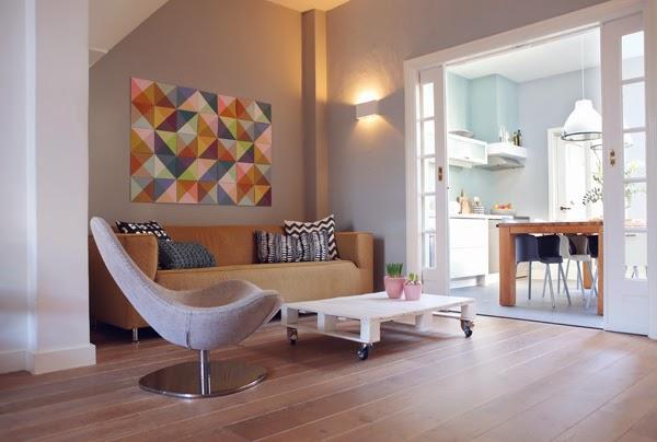 Zuiver zin zin in kleur in huis - Interieur van een huis ...