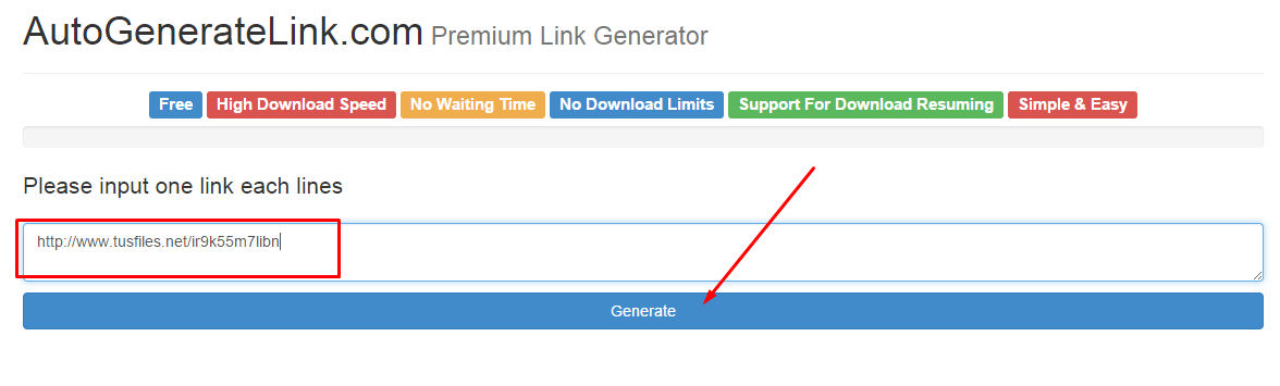 Autogeneratelink.com - Premium Generate Link Download Simple dan mudah