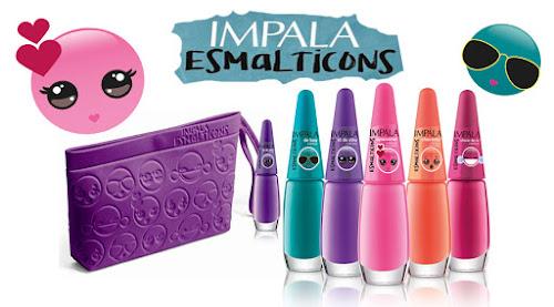 {LANÇAMENTO} Coleção Esmalticons da Impala