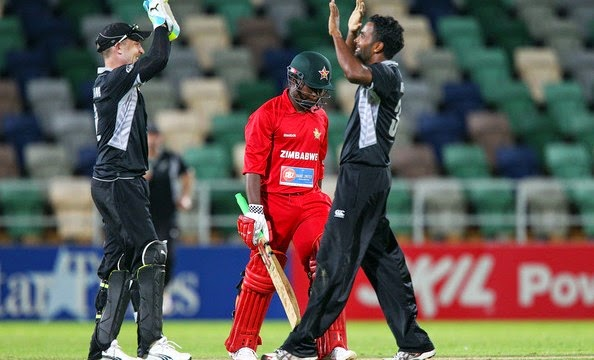 New Zealand Vs Zimbabwe match of Cricket World cup 2015