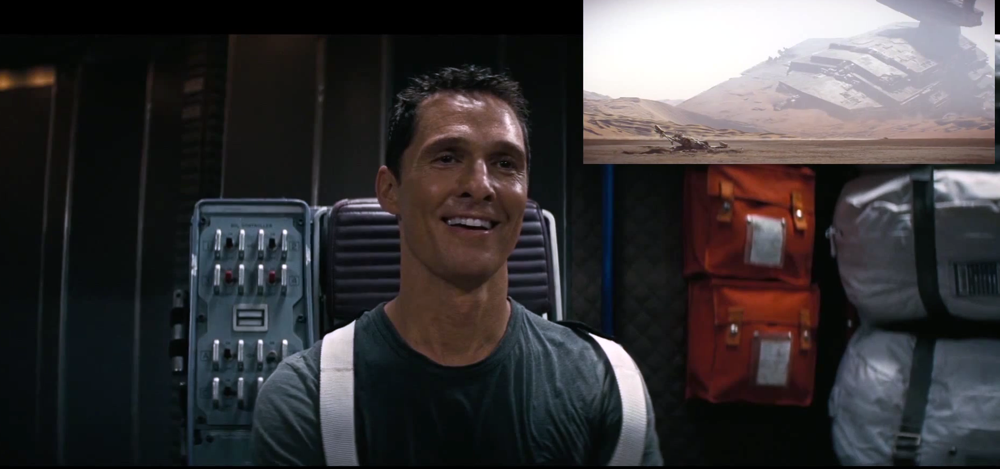 Matthew McConaughey Watches the Star Wars Trailer