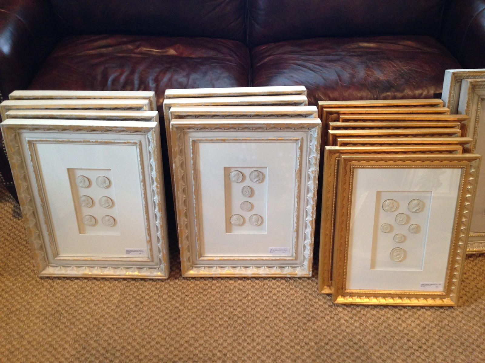 these are examples of the framed intaglios available at the market below is a close up of the intricacy of the frames