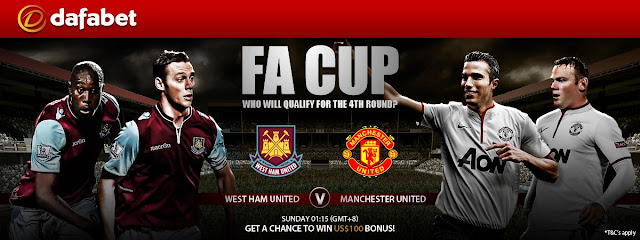 Get the latest promo: FA Cup West Ham United v Manchester United on Facebook