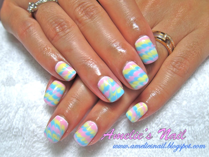 The Astonishing Pink polka dots nail designs Photo