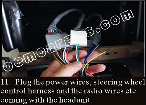 HONDA CRV RADIO DVD GPS NAVIGATION INSTALLATION GUIDE 11 how to install a car stereo in a honda crv ~ oem navigation system  at fashall.co