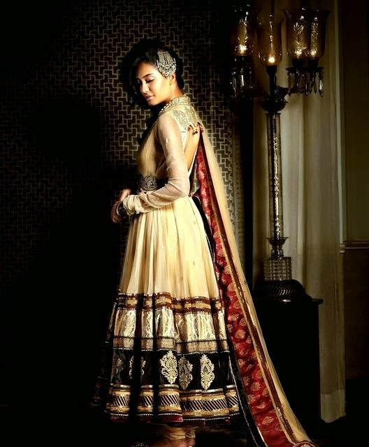 Bibi Jan 2013 Dresses Design Fashion Tahiliani Anarkali Dresses