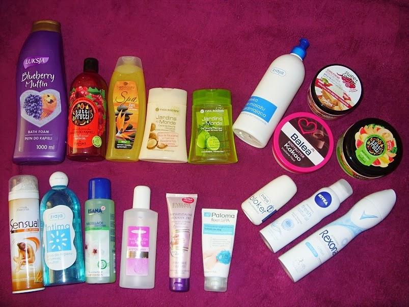 Zapasy kosmetyczne, część IV i ostatnia: kosmetyki do pielęgnacji ciała