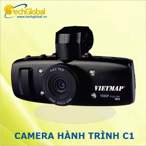Camera hành trình Vietmap C1 có GPS