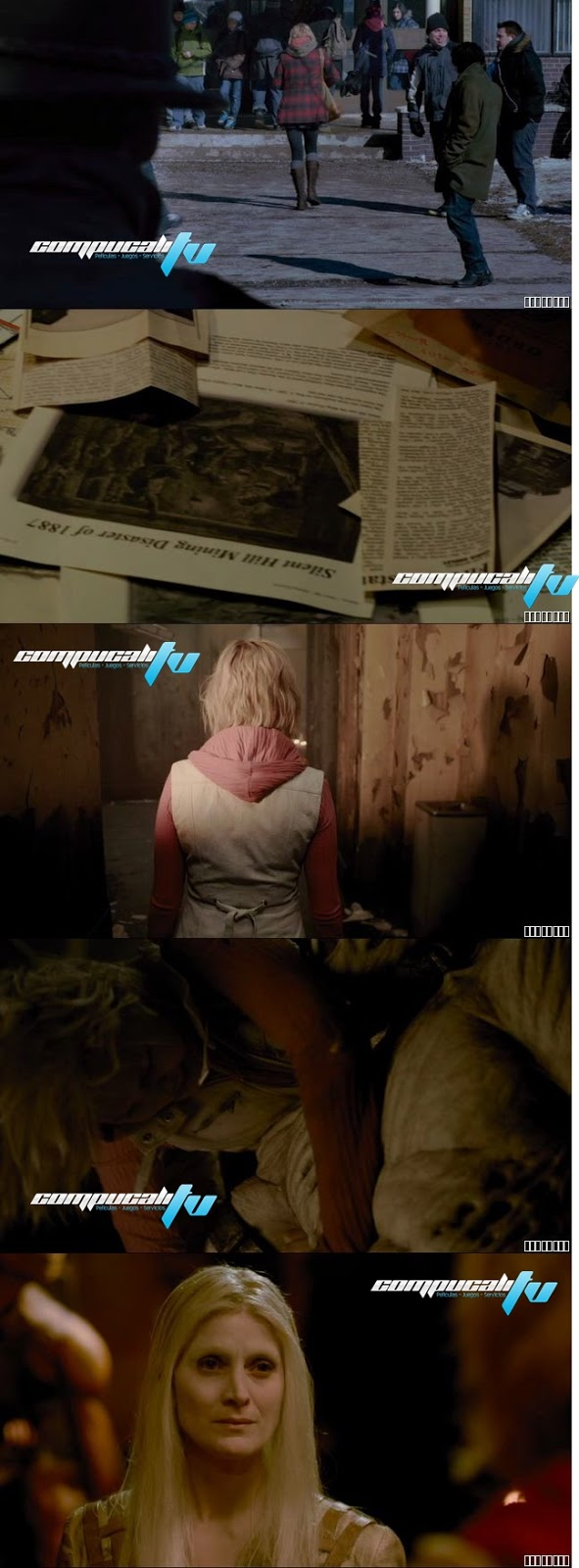 Silent Hill Revelation 3D DVDRip Español Latino