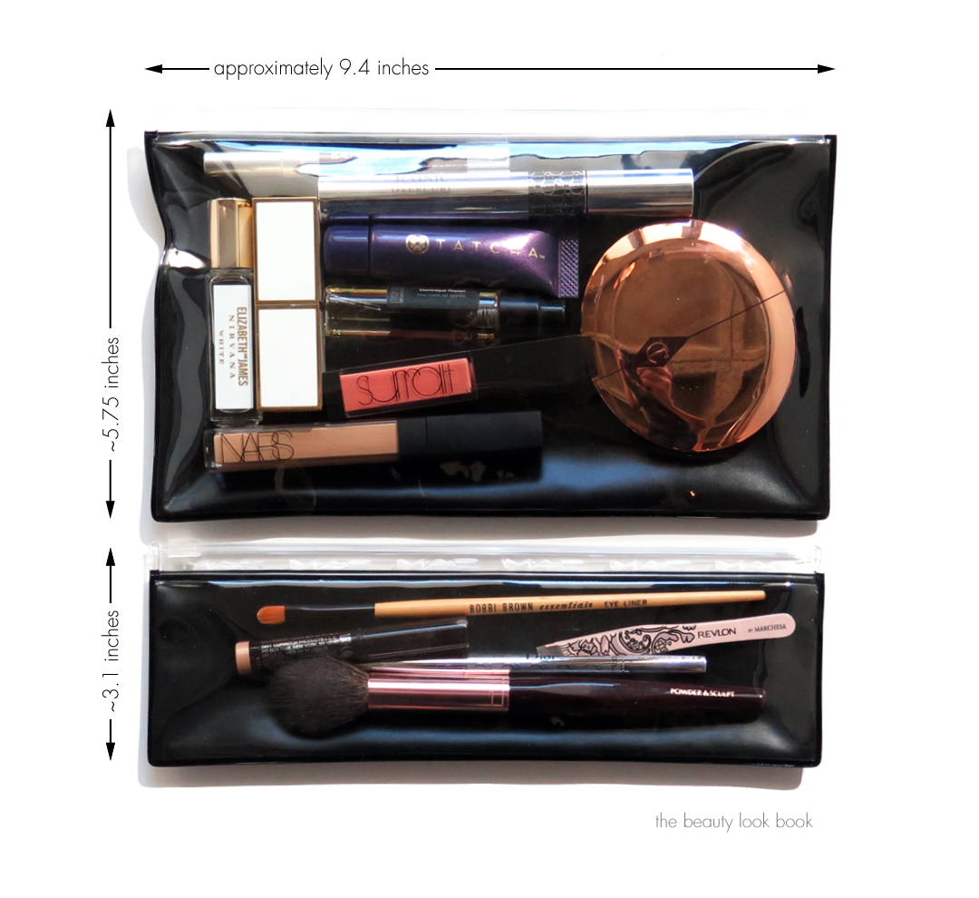 The Beauty Look Book Inside My Bag MAC Clear Bag Set