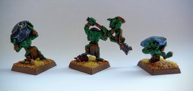 Rock Lobba crew for Orcs & Goblins, Warhammer Fantasy Battle