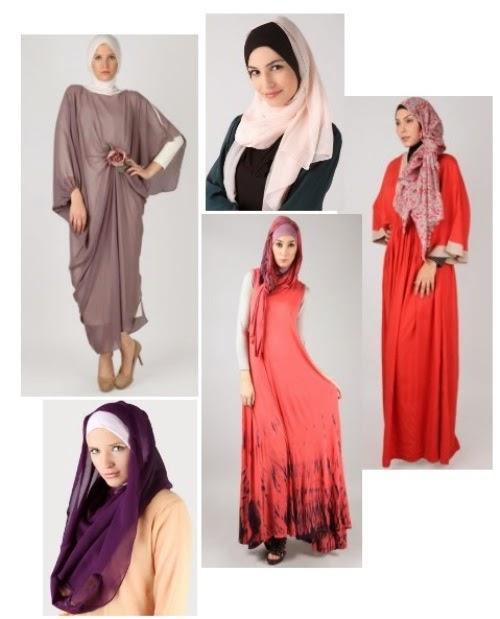 Trend Model baju lebaran wanita dewasa terbaru gaya masakini 2015