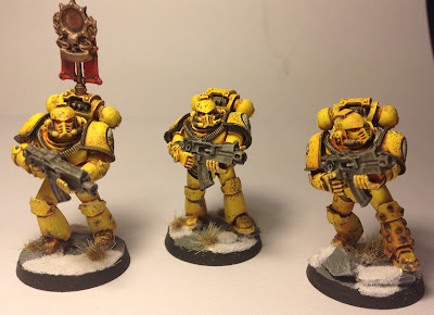 Pre-Heresy Imperial Fists Mark IV Tactical Squad