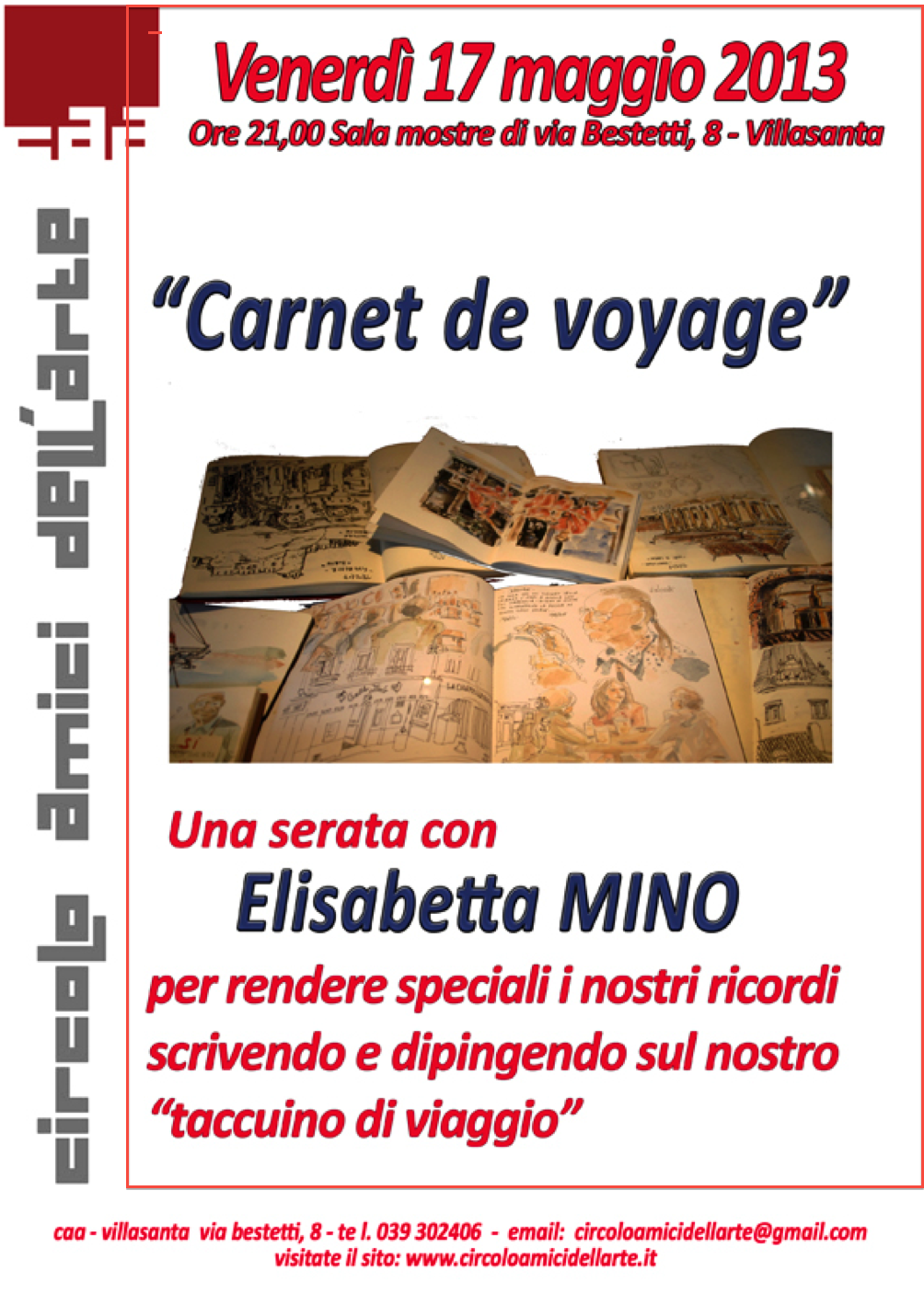 Carnet de Voyage - CONFERENZA