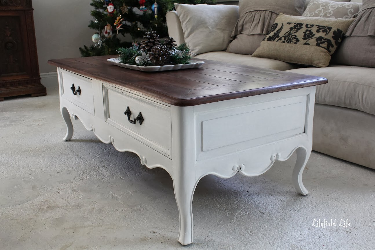 lilyfield life: french style coffee table