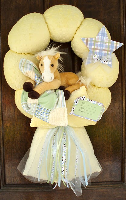 44. Baby Horse Wreath