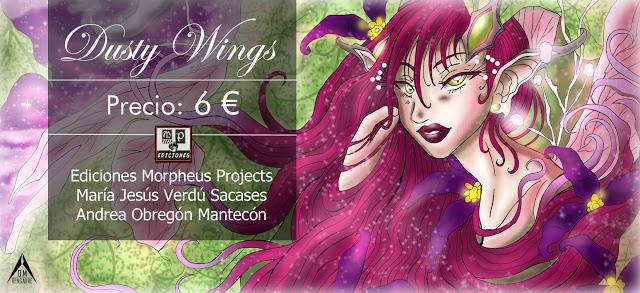 Dusty Wings, mi publicación sobre el mundo mágico de las hadas