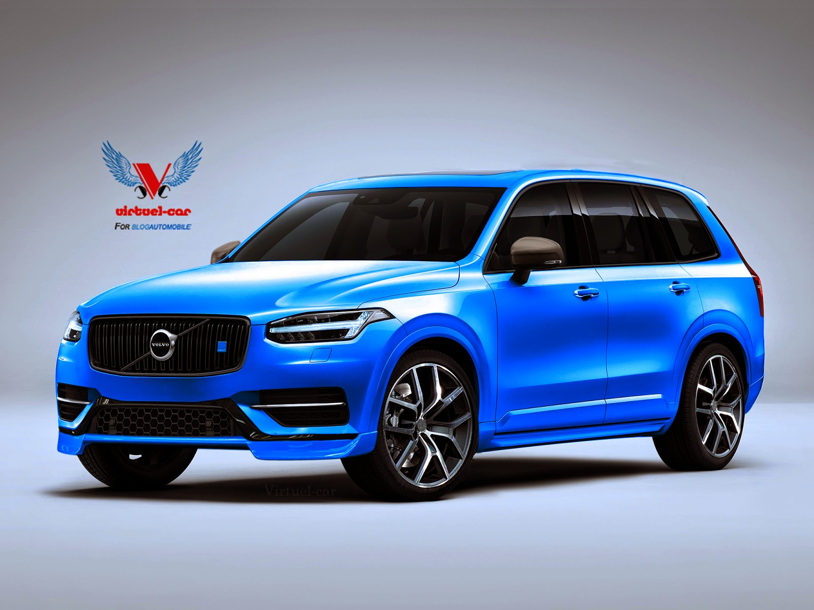 Another stab at a 2016 volvo xc90 polestar suv carscoops for Star motor cars volvo