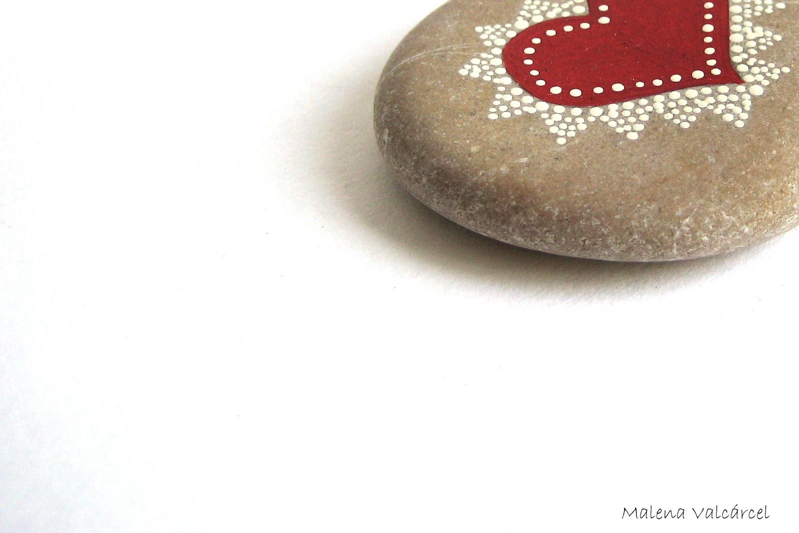 Malena valc 225 rcel original art piedras pintadas painted stones