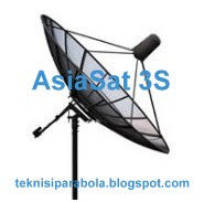 Latest Update TV Channels Frequency AsiaSat 3S