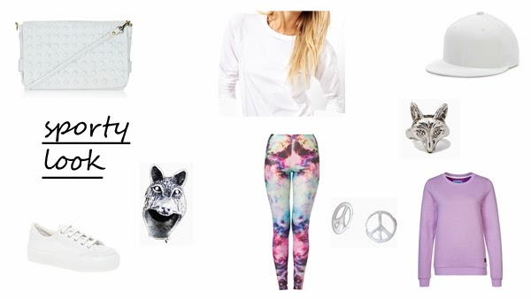 5 ways to wear print leggings sporty look